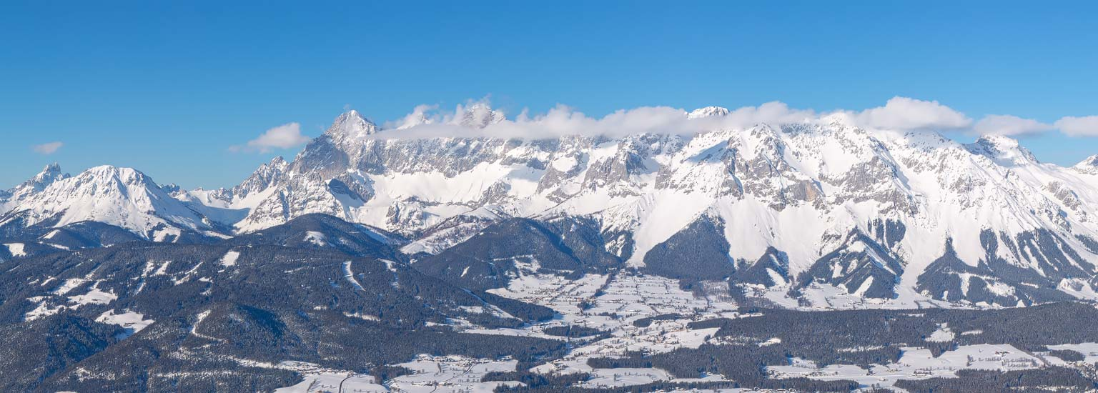 Dachsteinmassiv am 31. Januar 2019