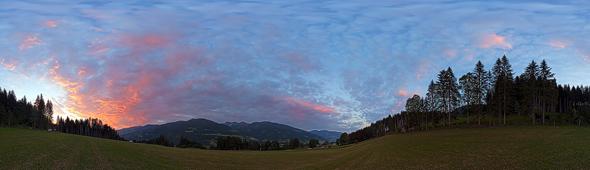Sonnenaufgang bei Birnberg